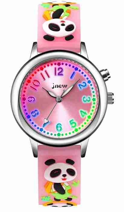 Pink Panda Watch for Toddlers