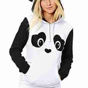 Cotton Panda Jacket for Woman