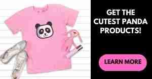 ETSY Giant Panda Products