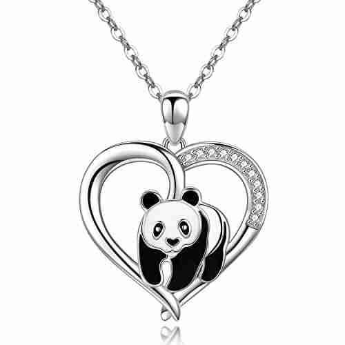 Best sterling silver panda chain
