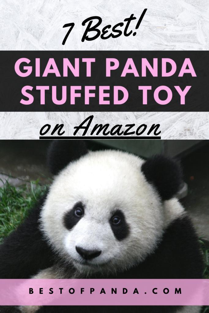 Best Giant Panda Stuffed Animals on Amazon