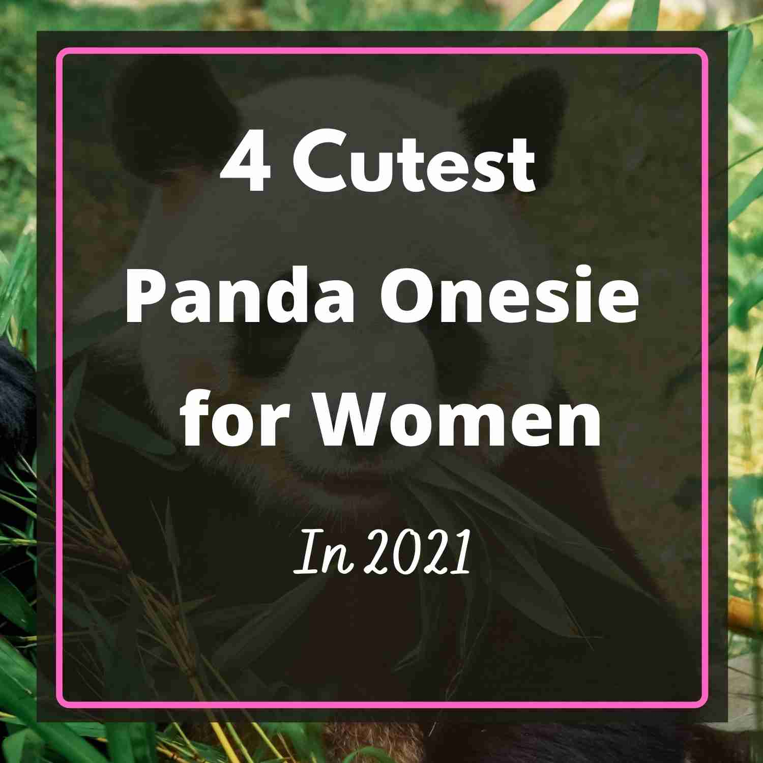 Cutest Panda Onesie Anime for Adults