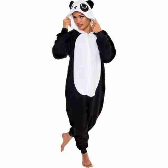 Slim fit animal pajamas
