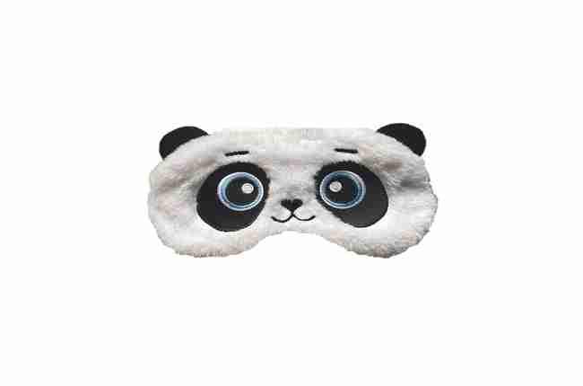 adorable panda bear sleeping mask