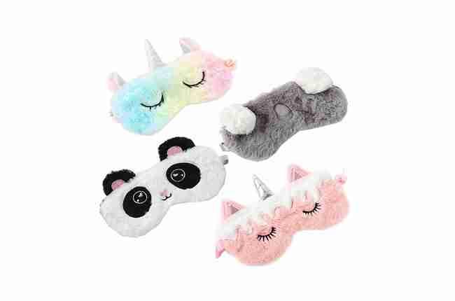 animal bundle sleeping mask