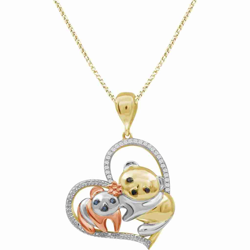 Best sterling silver panda necklace