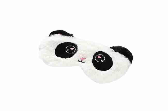 panda bear plush-type sleep mask