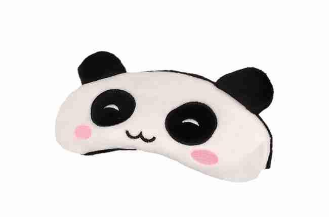 panda sleep eye mask with gel insert