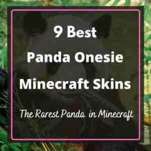 Best Panda Onesie Minecraft Skins