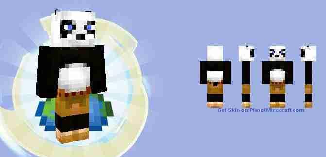Kung Fu Panda Onesie Minecraft Skin