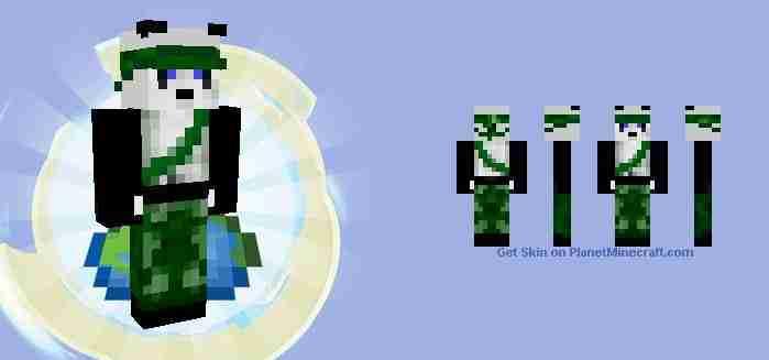 Rambo Panda Onesie Minecraft Skin