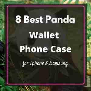 Best Panda Wallet Phone Case