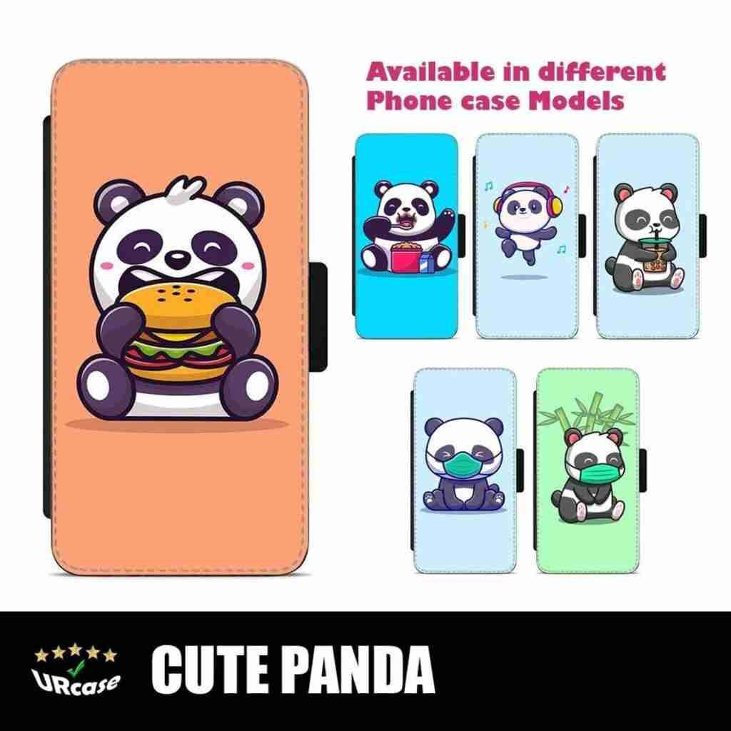 Cute Panda Design Phone Cover