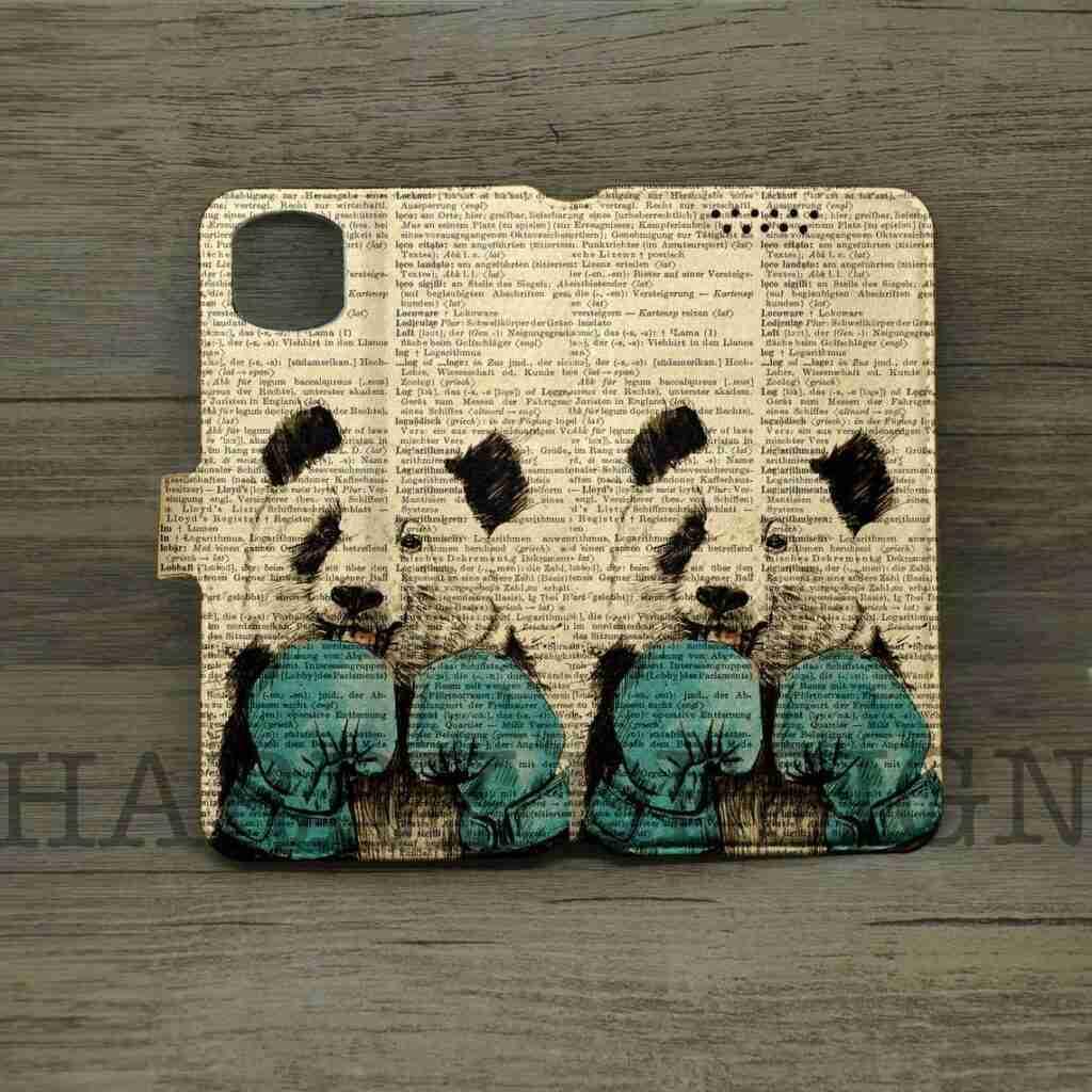 Unique Panda Wallet Case