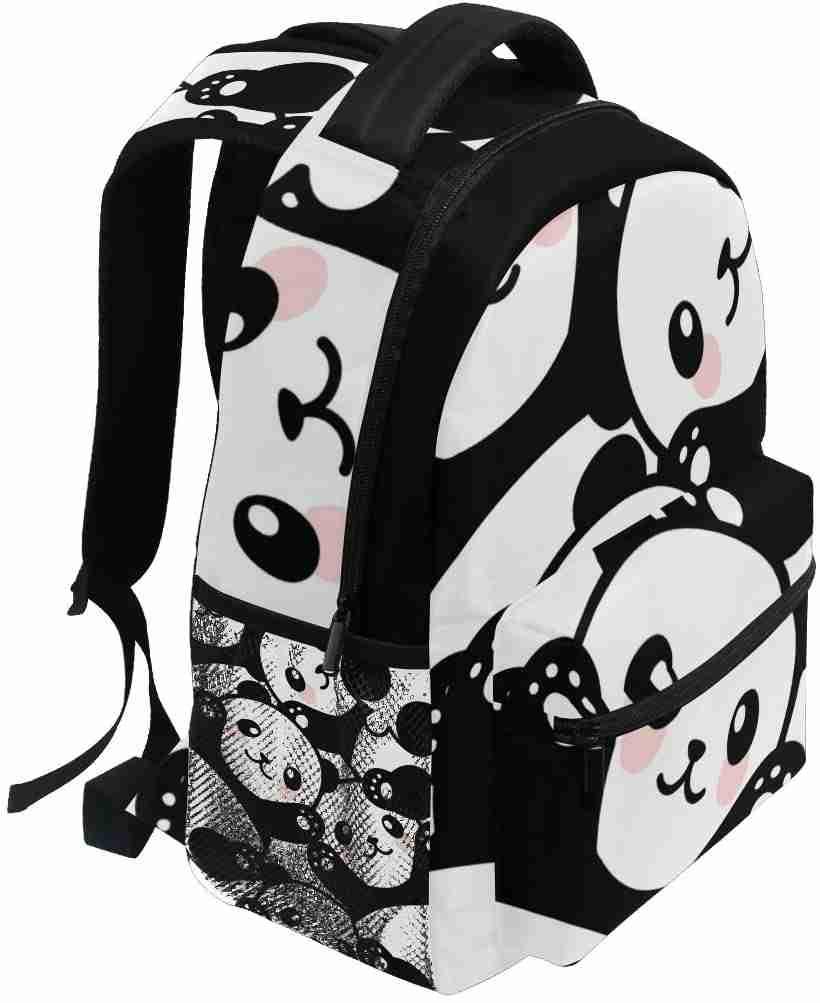 Cute Cartoon Panda Backpack for Girls