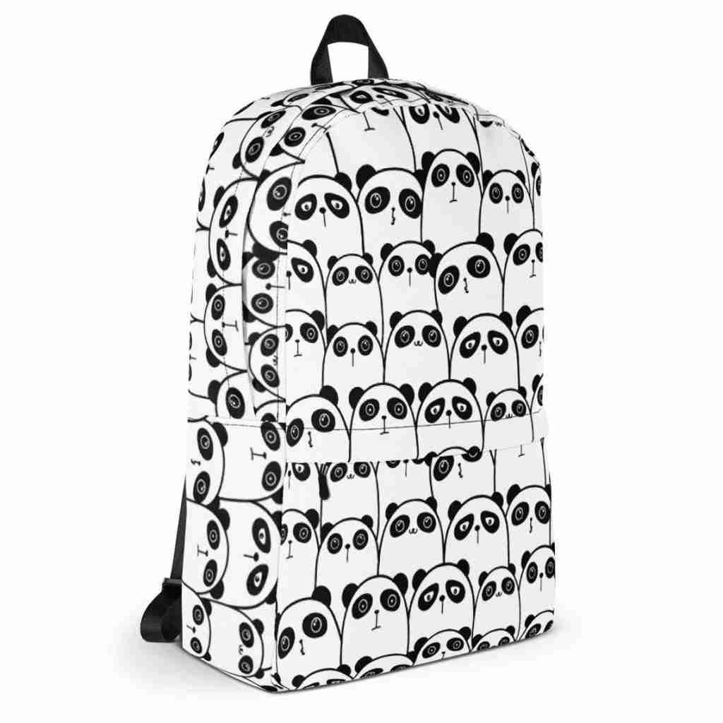 Doodled Panda Backpack