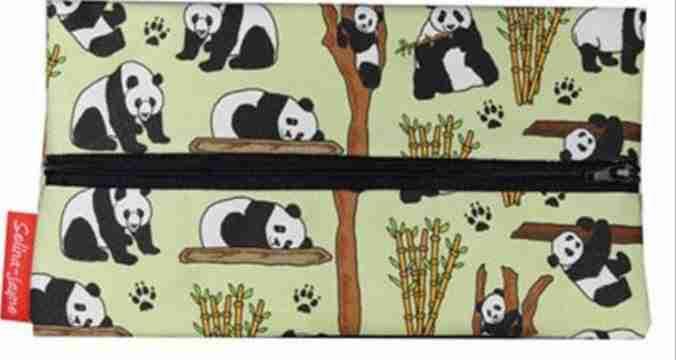 Panda Bear Limited Edition Designer Pencil Case