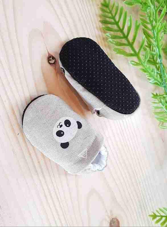 Baby Slippers Panda non-slip soles